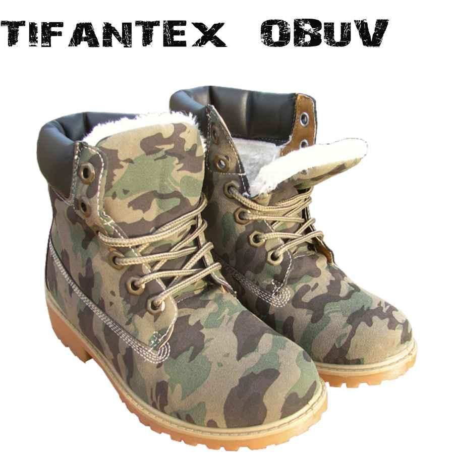 Tenisky dámske maskáčové Gogo woodland nizke - TifanTEX obuv 51afdd56914