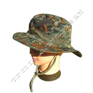 Klobúk JUNGLE flecktarn