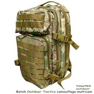 Batoh Outdoor Tactics camouflage multicam 20L