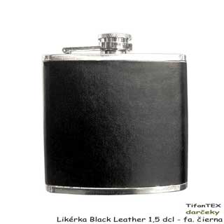 Likérka Black Leather 1,5 dcl