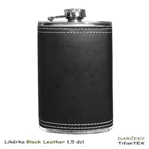 Ploskačka Black Leather 1,5 dcl