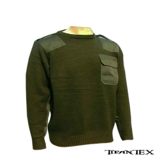 Sveter SWEATER oliva